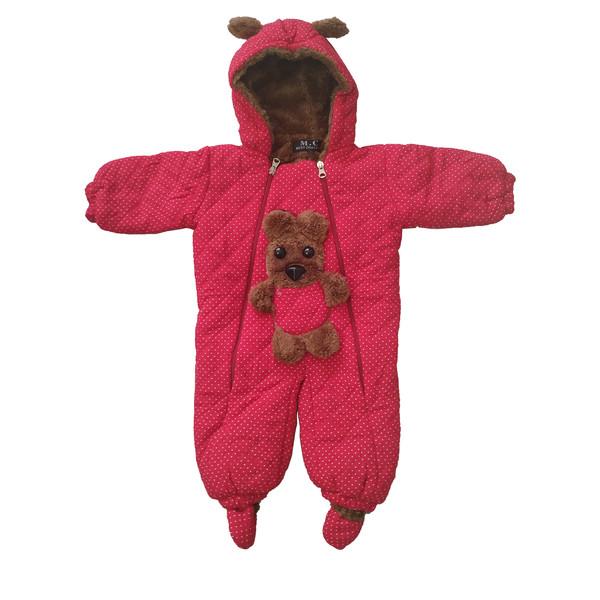 سرهمی نوزادی طرح Bear کد G101