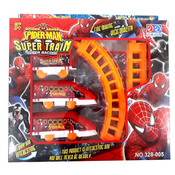 قطار اسباب بازی مدل اسپایدر من کد 01