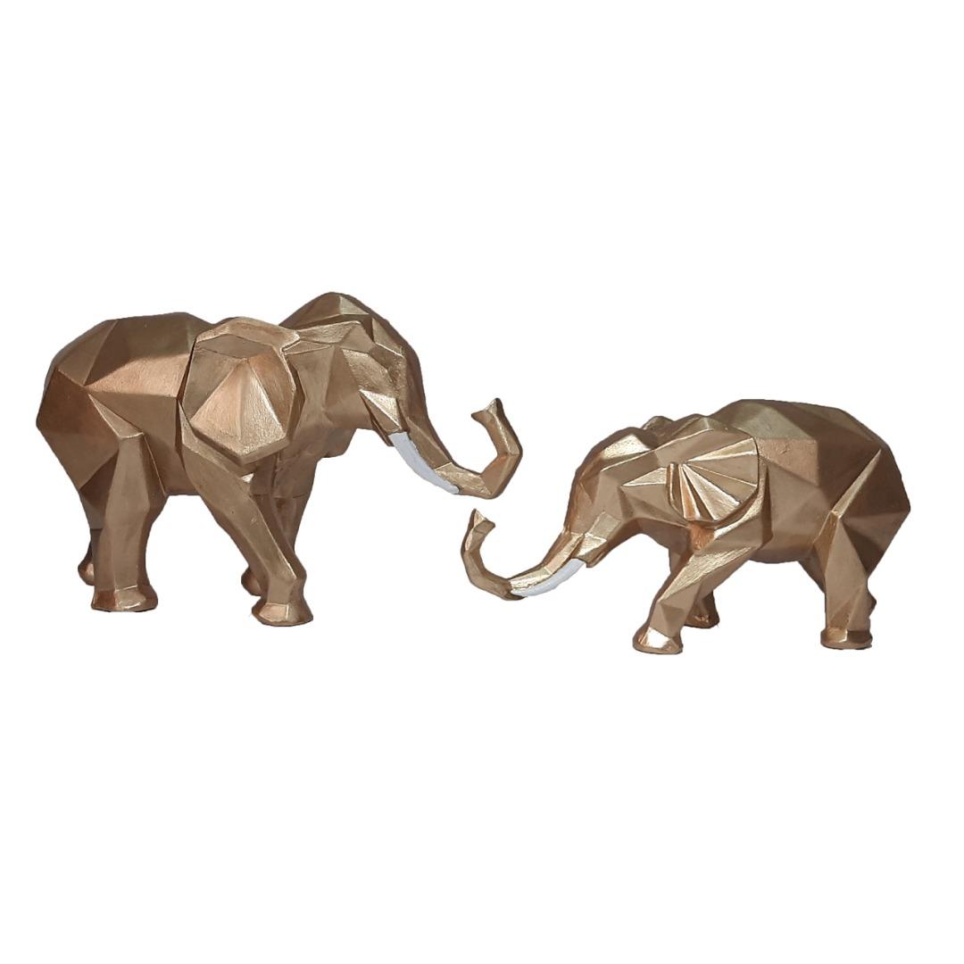 مجسمه طرح فیل کد A29 مجموعه 2 عددی