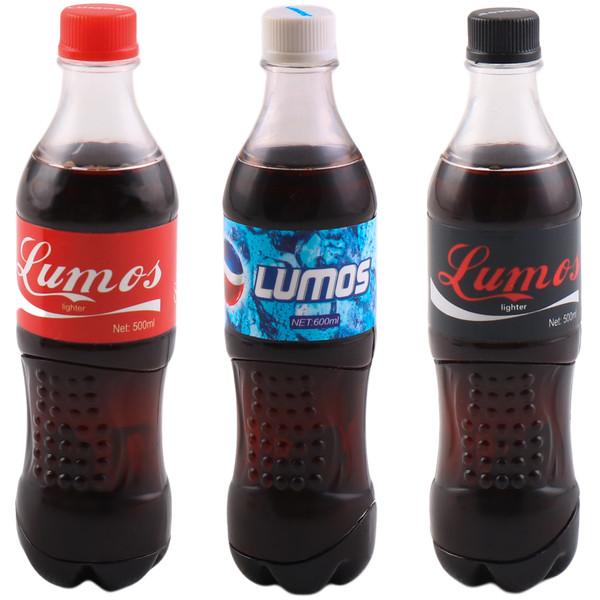 فندک لوموس طرح نوشابه کد LMS002 مجموعه 3 عددی