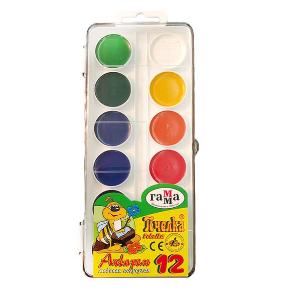 آبرنگ 12 رنگ مدل راما