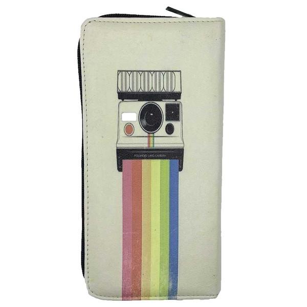 کیف پول دخترانه طرح دوربین کد VZ04