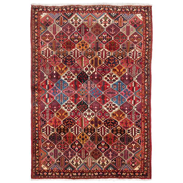 فرش دستباف قدیمی پنج و نیم متری حیدریان کد 64952