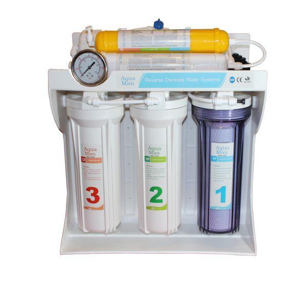 دستگاه تصفیه کننده آب آکوا من مدل RO-F6
