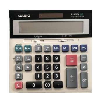 تصویر ماشین حساب کاسیو DS-120TV Casio DS-120TV Calculator