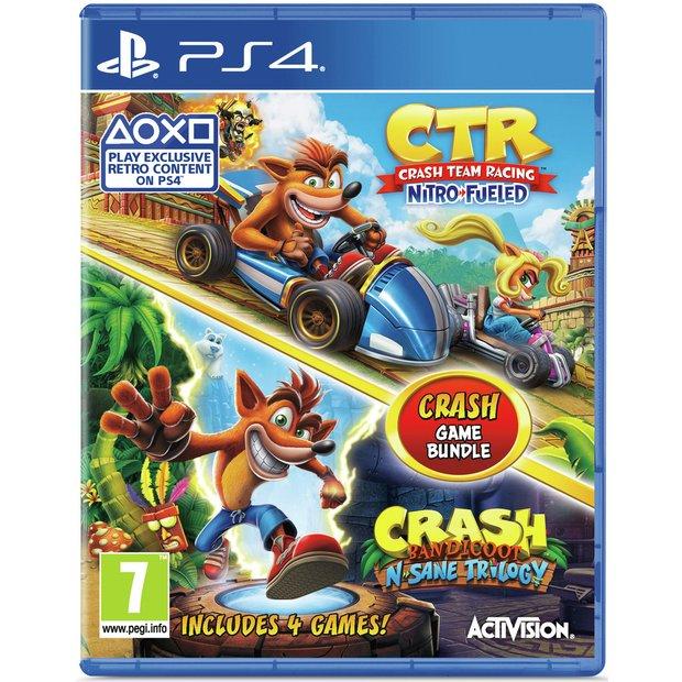 بازیCrash Bandicoot and Crash Team Racing مخصوص PS4