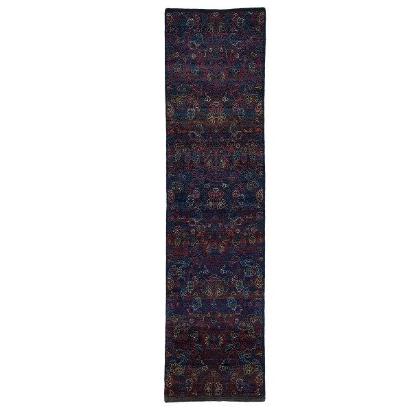 فرش دستباف کناره طول سه و نیم متری حیدریان کد 60110