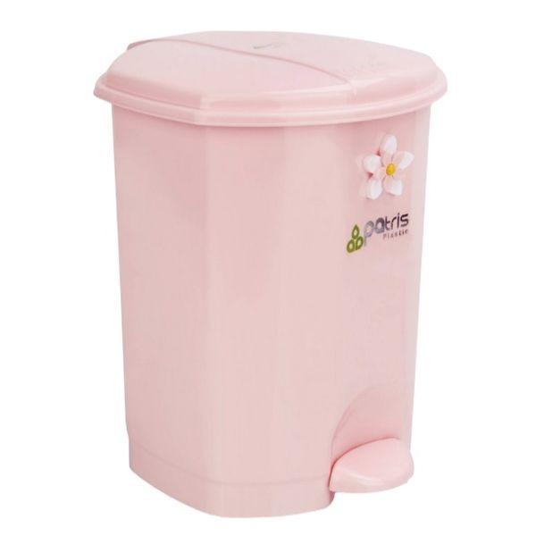 سطل زباله پدالی پاتریس کد 215 گنجایش 25 لیتر