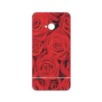 برچسب پوششی ماهوت مدل Red-Flower مناسب برای گوشی موبایل اچ تی سی One