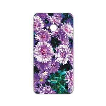 برچسب پوششی ماهوت مدل Purple-Flower مناسب برای گوشی موبایل اچ تی سی One