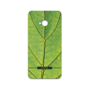 برچسب پوششی ماهوت مدل Leaf-Texture مناسب برای گوشی موبایل اچ تی سی One