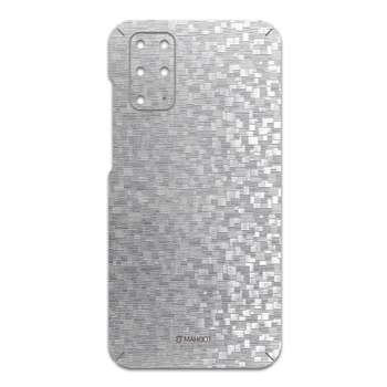 برچسب پوششی ماهوت مدل Silver-Silicon مناسب برای گوشی موبایل سامسونگ Galaxy S20 Plus