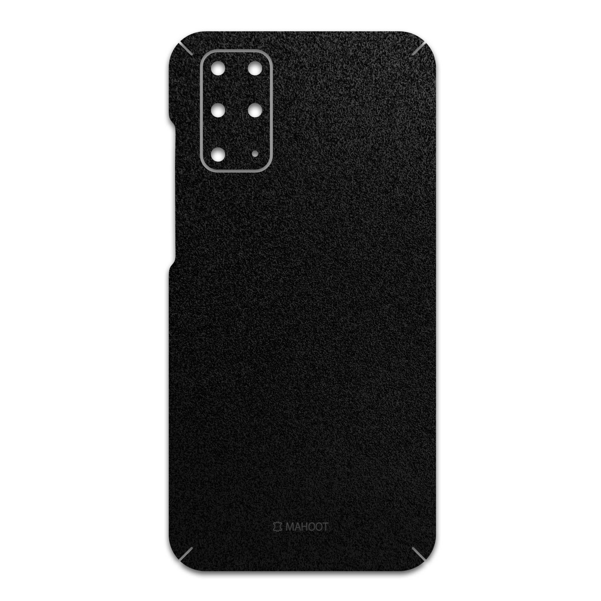 برچسب پوششی ماهوت مدل Black-Suede مناسب برای گوشی موبایل سامسونگ Galaxy S20 Plus