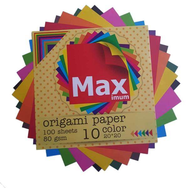 کاغذ اوریگامی کد K1010 بسته 100 عددی