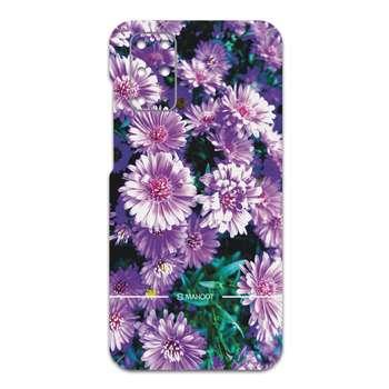 برچسب پوششی ماهوت مدل Purple-Flower مناسب برای گوشی موبایل سامسونگ Galaxy S20 Plus