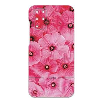 برچسب پوششی ماهوت مدل Pink-Flower مناسب برای گوشی موبایل سامسونگ Galaxy S20 Plus