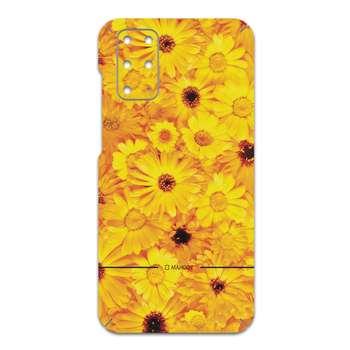 برچسب پوششی ماهوت مدل Yellow-Flower مناسب برای گوشی موبایل سامسونگ Galaxy S20 Plus