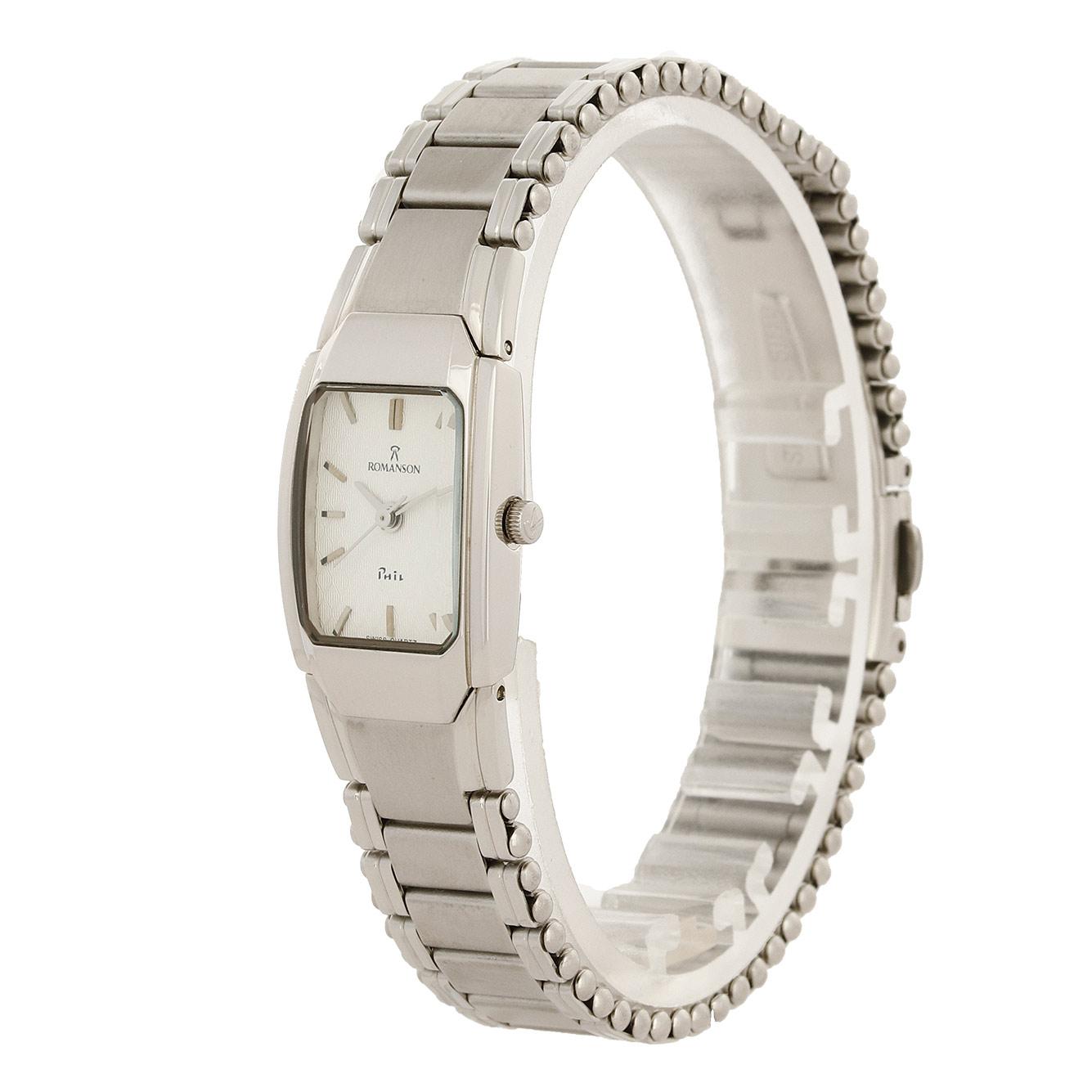 ساعت مچی عقربه ای زنانه رومانسون مدل NM4516LL1WAS2W              ارزان
