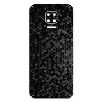 برچسب پوششی ماهوت مدل Honey-Comb-Circle مناسب برای گوشی موبایل شیائومی Redmi Note 9S
