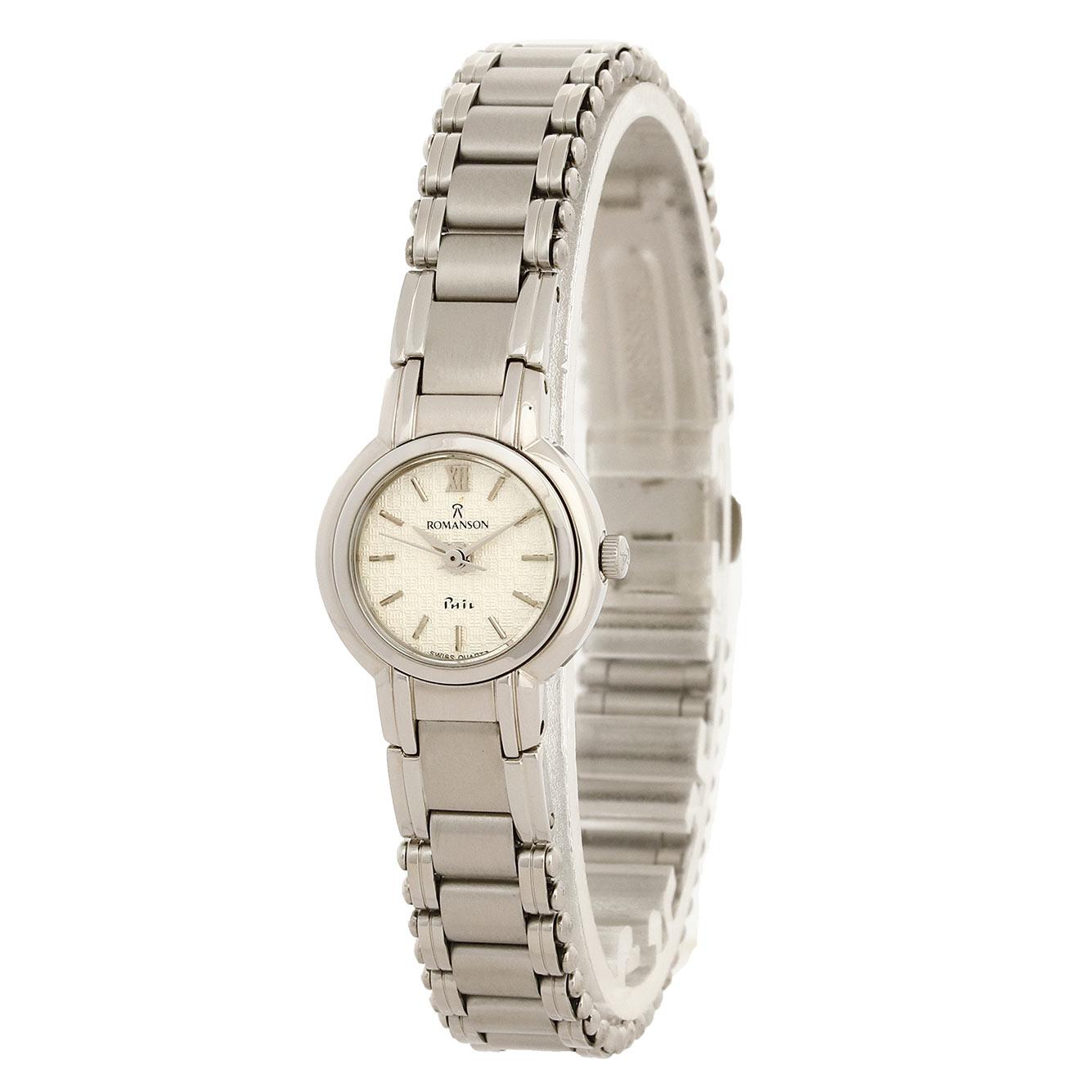 ساعت مچی عقربه ای زنانه رومانسون مدل NM4518LL1WAS2W              ارزان