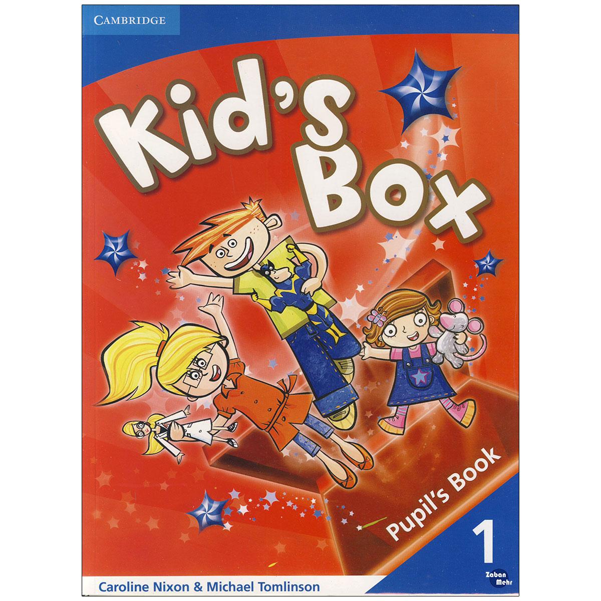 کتاب Kids Box 1 اثر Caroline Nixon and Michael Tomlinson انتشارات زبان مهر