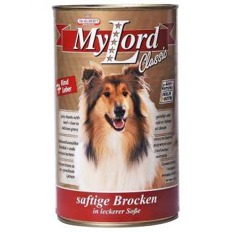 کنسرو غذای سگ دکتر آلدرز کد 030 وزن 415 گرم