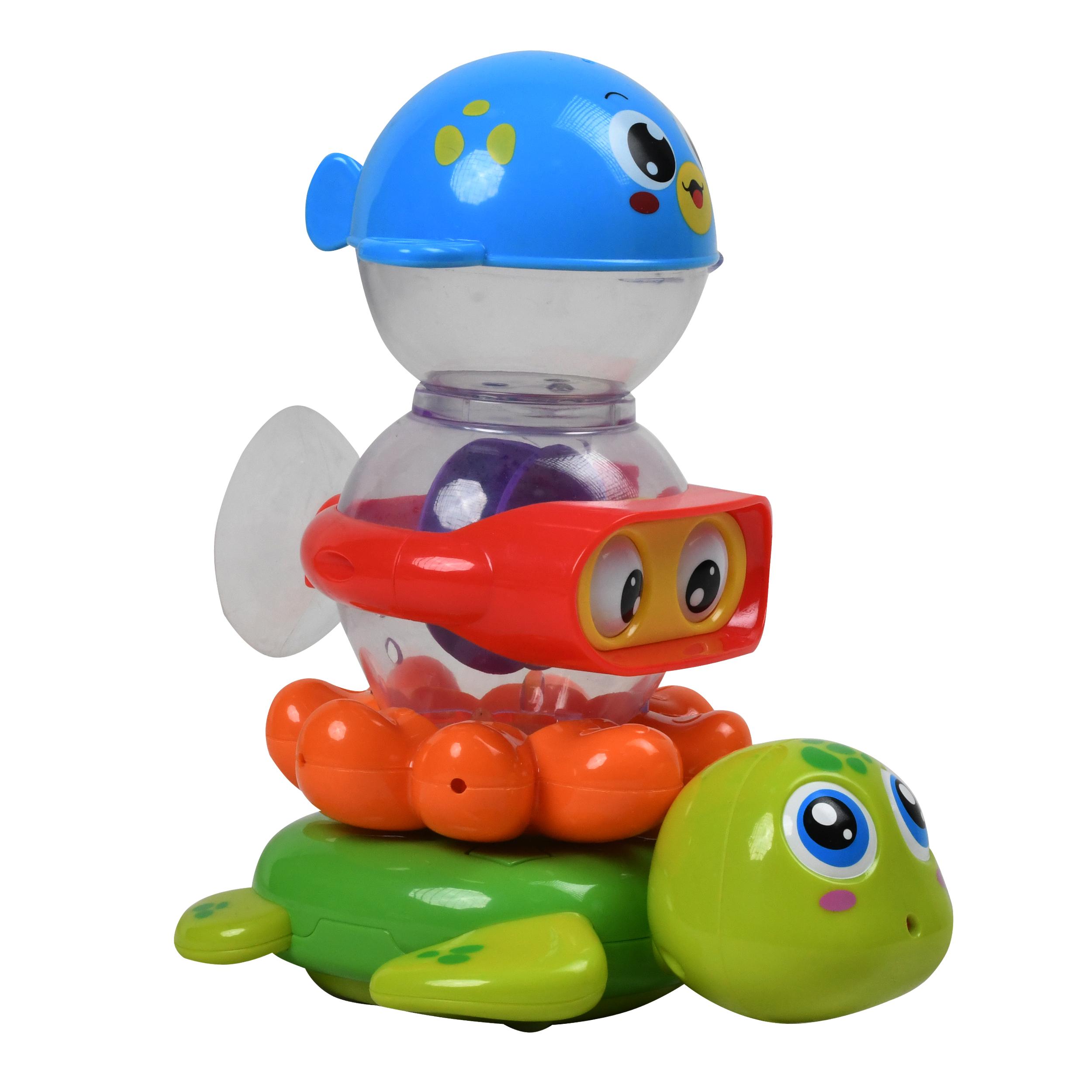 اسباب بازی حمام هولا طرح حیوانات مدل 3112