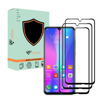 محافظ صفحه نمایش لمبر مدل LAMBFULL-1 مناسب برای گوشی موبایل آنر 10 Lite بسته سه عددی