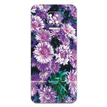 برچسب پوششی ماهوت مدل Purple-Flower مناسب برای گوشی موبایل شیائومی Redmi Note 9S