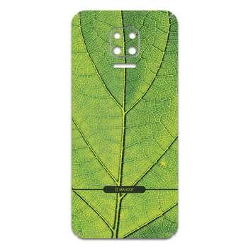 برچسب پوششی ماهوت مدل Leaf-Texture مناسب برای گوشی موبایل شیائومی Redmi Note 9S