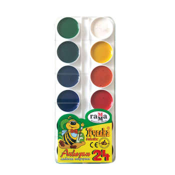 آبرنگ 24 رنگ مدل راما