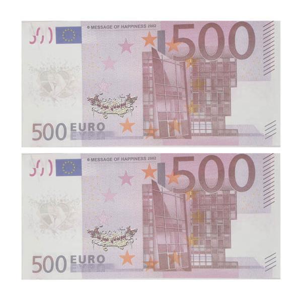 اسکناس تزیینی طرح یورو مدل AB03 بسته 200 عددی