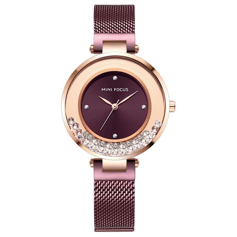 خرید و قیمت                      ساعت مچی  زنانه مینی فوکوس مدل mf0254l.03