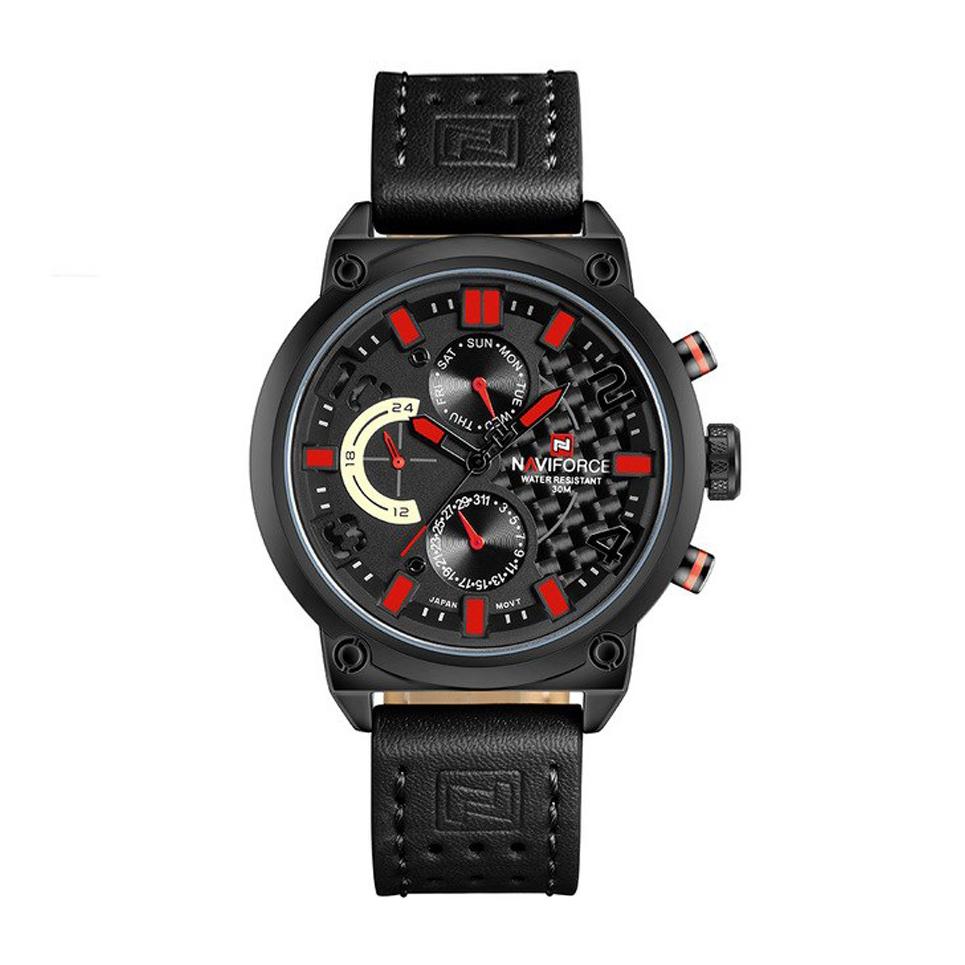 قیمت و خرید                      ساعت مچی عقربه ای مردانه نیوی فورس مدل NF9068 LBR