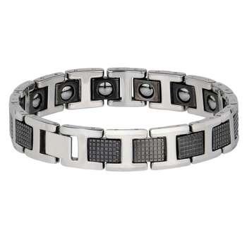 دستبند مغناطیسی مدل tungesten کد 115