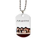 گردنبند طرح Friends کد G-65