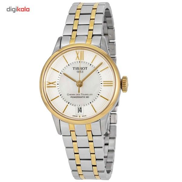 خرید                                      ساعت مچی عقربه ای زنانه تیسوت مدل T099.207.22.118.00