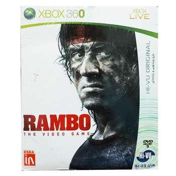بازی RAMBO مخصوص xbox 360
