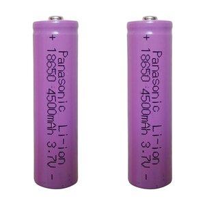 باتری لیتیوم-یون قابل شارژ پاناسونیک کد 18650 ظرفیت 4500 میلی آمپرساعت بسته 2 عددی