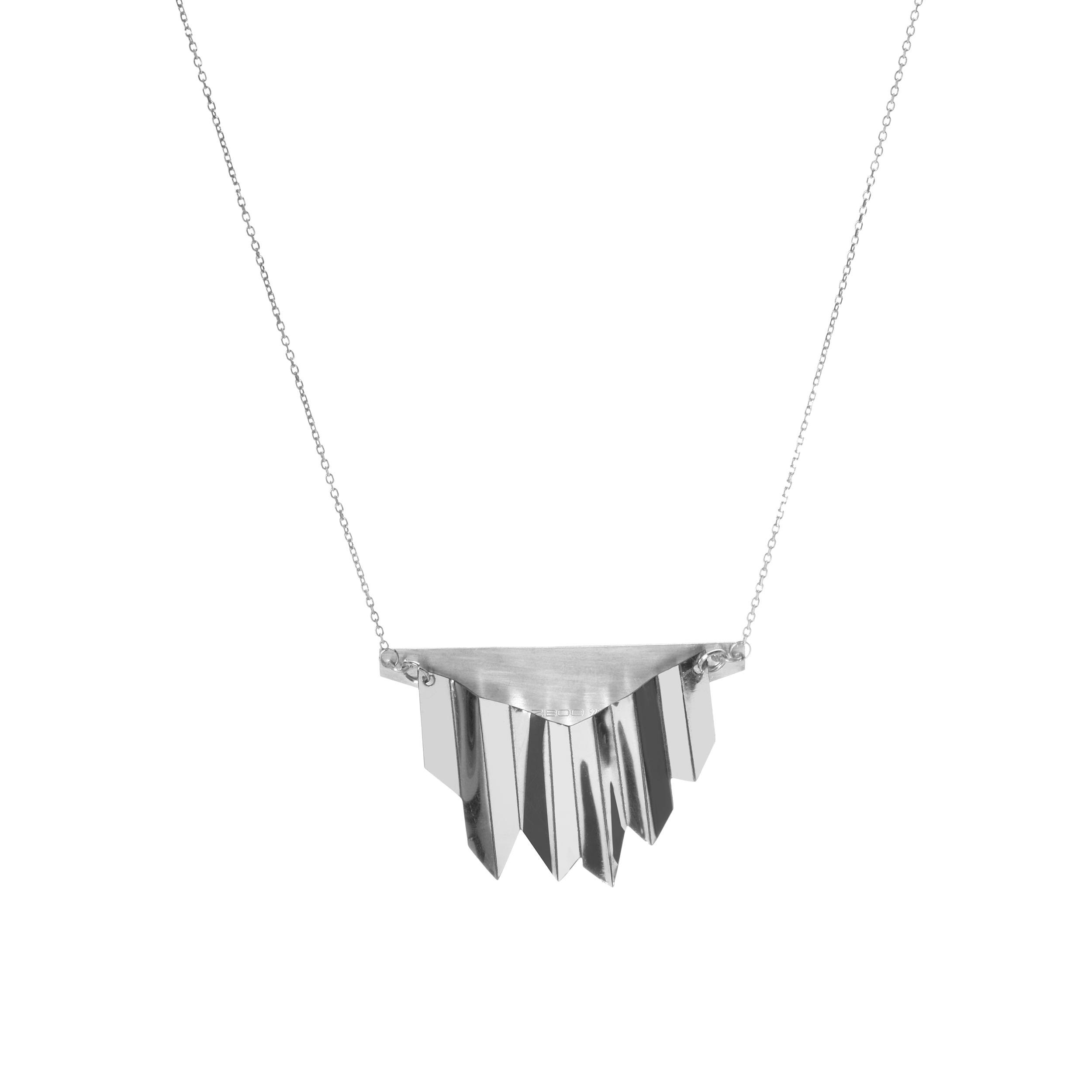 گردنبند نقره زنانه زیبو کد 508719