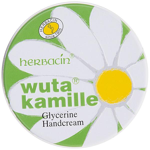 کرم دست هرباسین مدل Wuta Kamille Glycerine کاسهای حجم 75 میلی لیتر