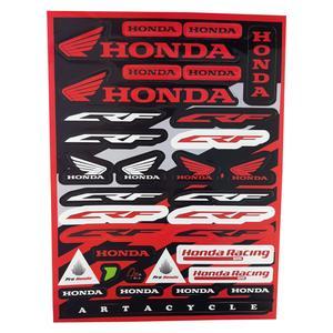 برچسب بدنه موتورسیکلت مدل HDA_RM