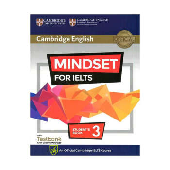 کتاب Cambridge English Mindset For IELTS 3  اثر Greg Archer and Claire Wijayatilake انتشارات جنگل