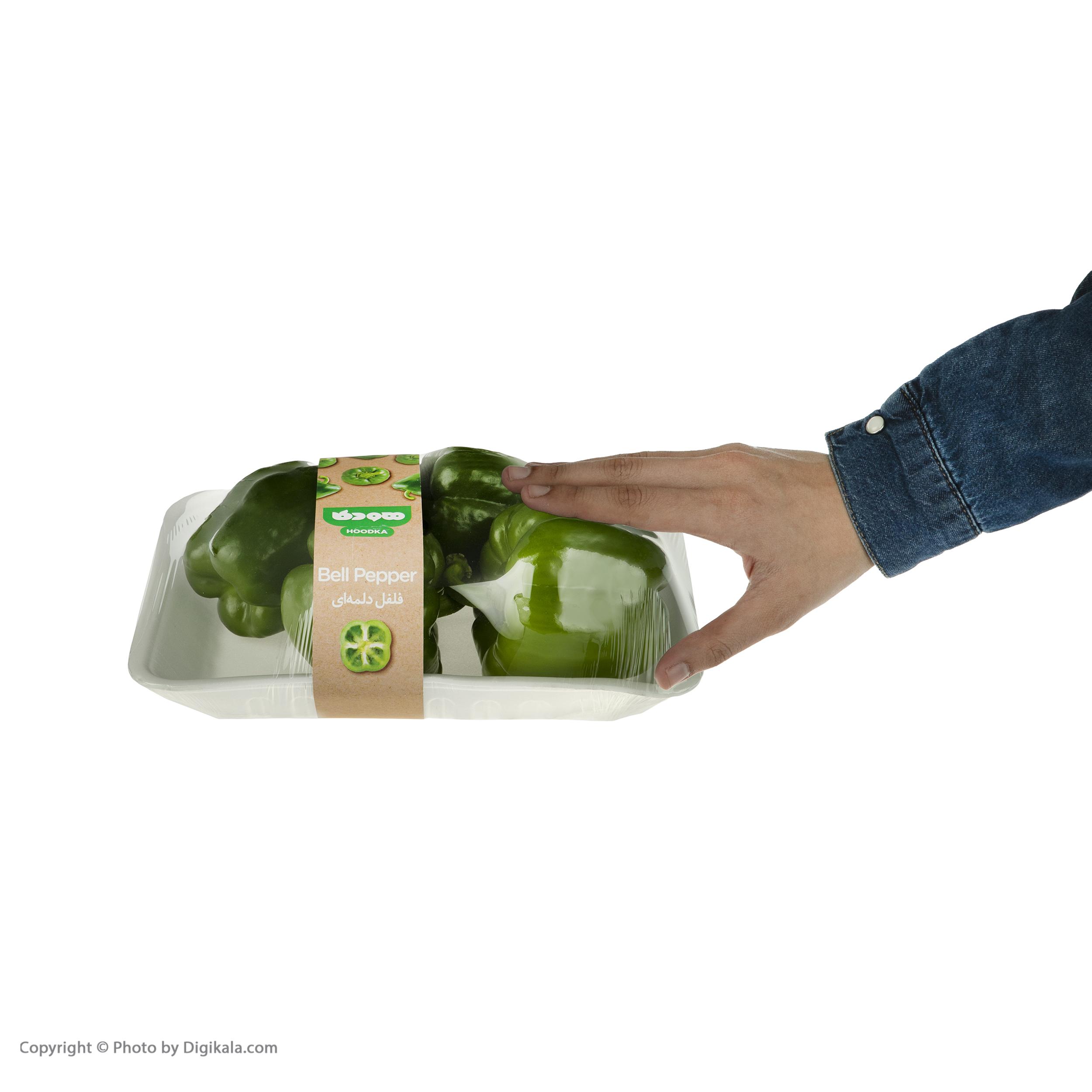 فلفل دلمه سبز هودکا - 500 گرم
