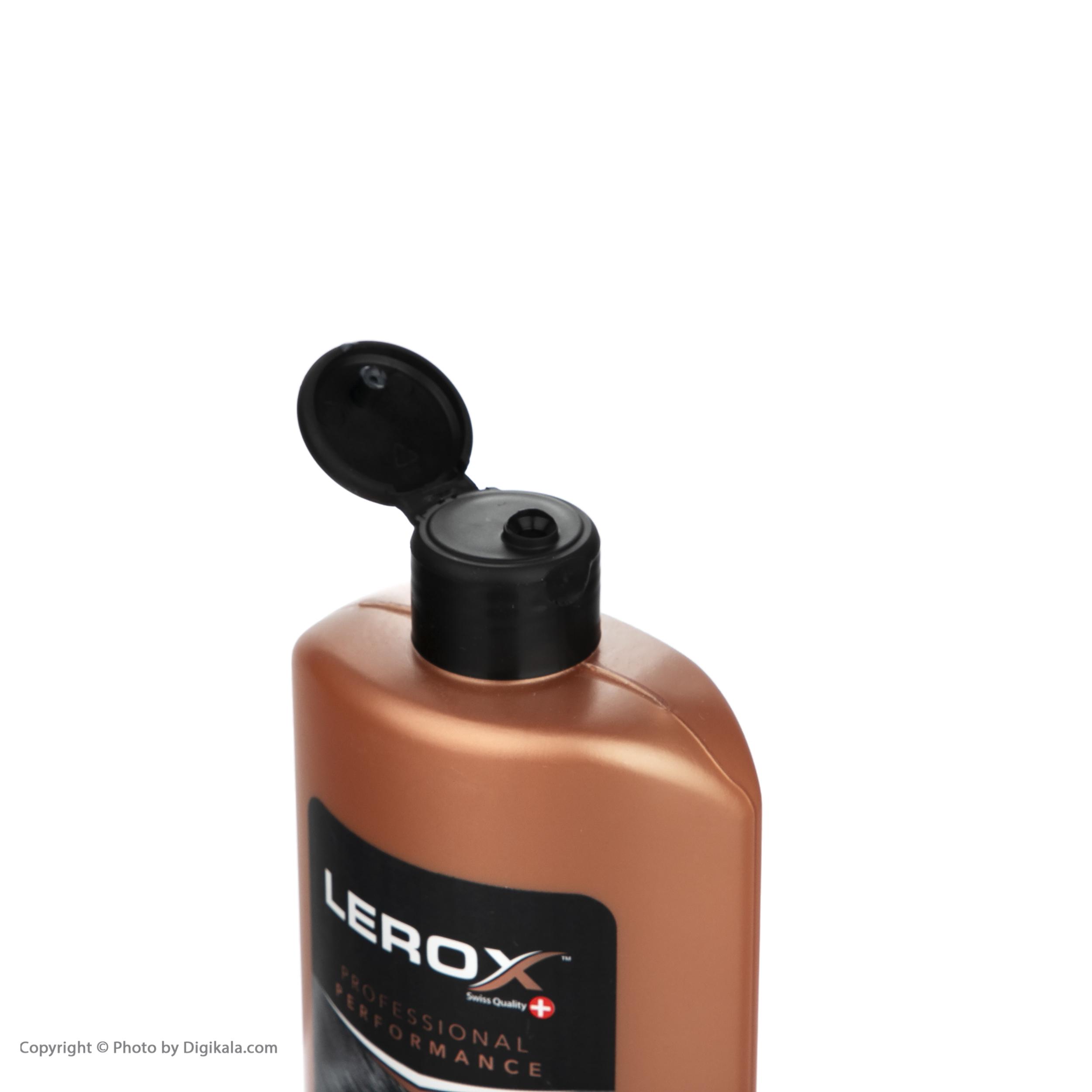 شامپو کراتینه مو لروکس مدل Aloevera مقدار 550 گرم