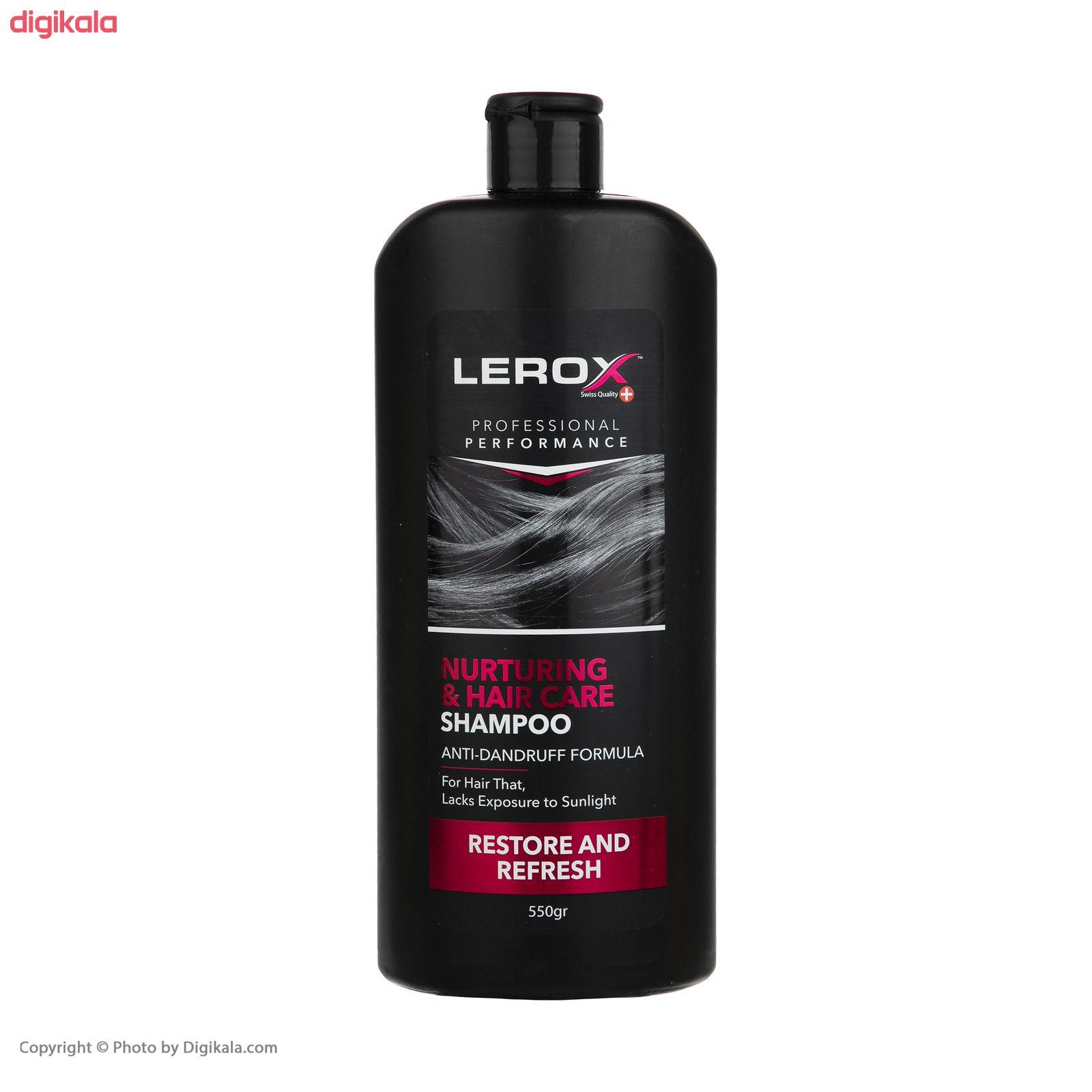 شامپو مو لروکس مدل Nurturing & Hair Care وزن 550 گرم main 1 4