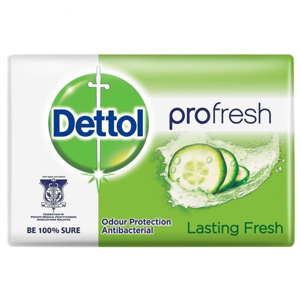 صابون ضد باکتری دتول مدل profresh + وزن 65 گرم بسته 6 عددی