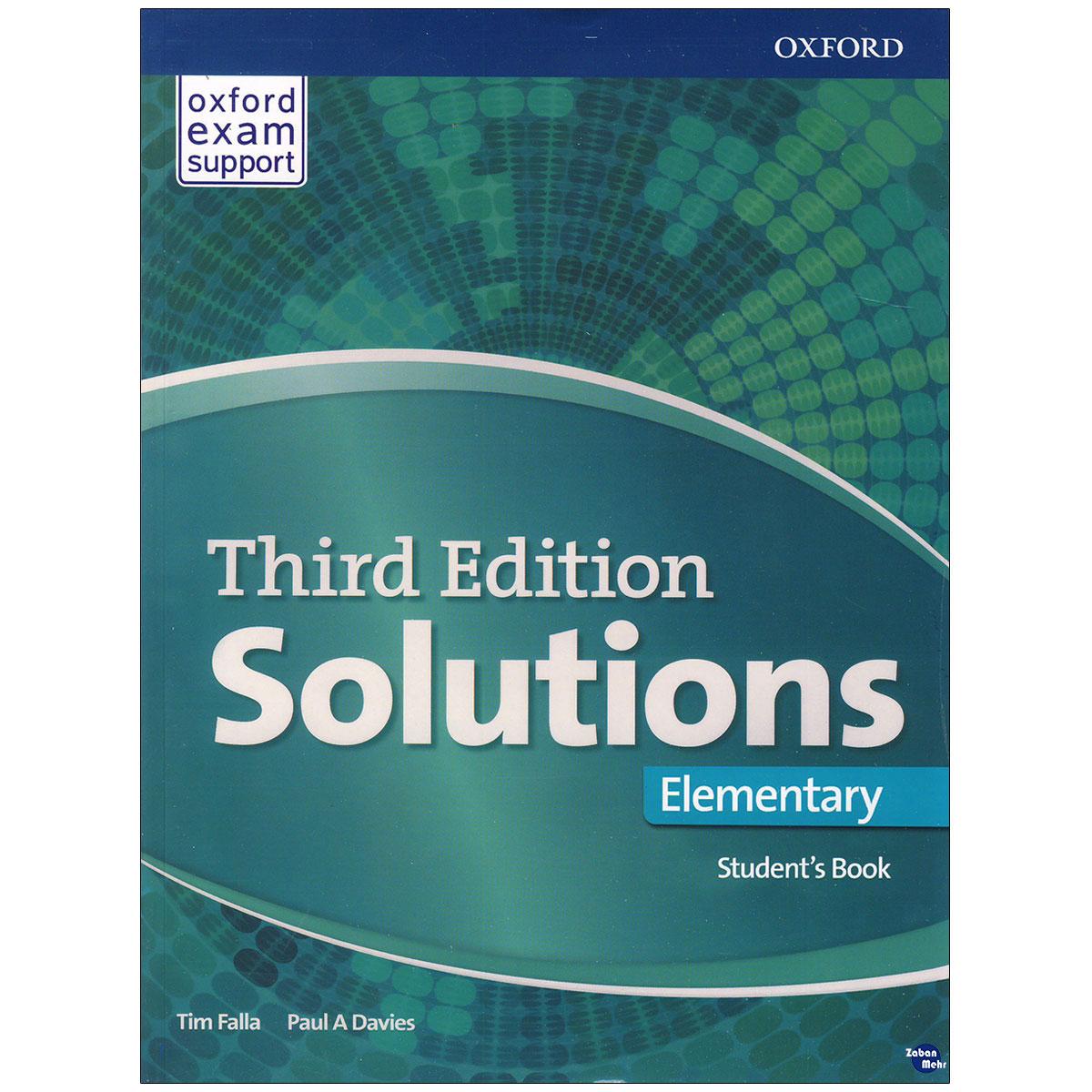 خرید                      کتاب Solutions Elementary اثر  Paul A. Davies and Tim Falla  انتشارات زبان مهر