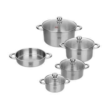 سرویس پخت و پز 9 پارچه پارس استیل کد 09-1