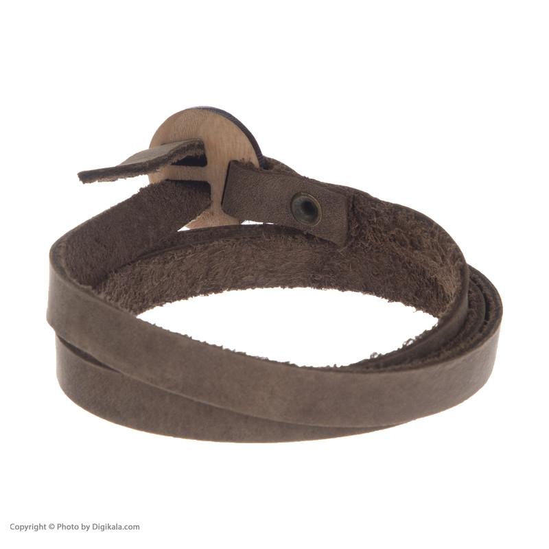 دستبند مردانه چرم لانکا مدل BB-9 Z